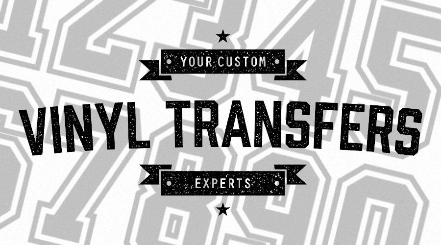 Devine Shirt Company Vinyl Transfers Service
